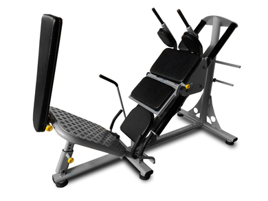 QN032 LEG PRESS 45 GRAUS COM RACK SQUAT
